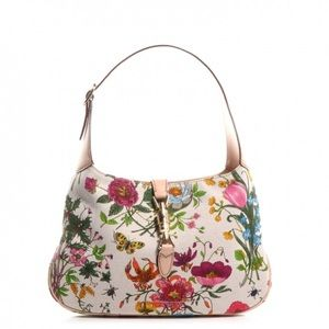Gucci Medium Flora Hobo